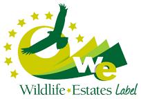 Logo wildlife estate label